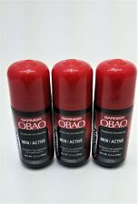 3 Garnier Obao Roll On Deodorant for Men (Active) 48 hours / Desodorante Hombre