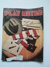coin-op Amusements june 1 1988 Play Meter MAGAZINE.