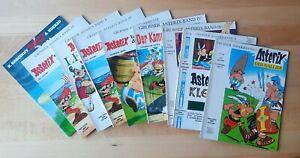 9 x Asterix und Obelix einige 1. Aufl. (Ehapa-Verlag) - Zust. sehr gut/gut