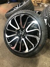 """Range Rover Vogue Sport 22"""" Alloy Wheels Turbine L322 L320 L494 L405 - X 4"""