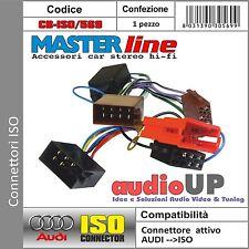 121 CONNETTORE MINI ISO GIALLO COMPLETO DI SPINETTE C