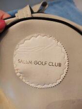 Salem Golf Club Balls Bag Westchester County Ny north