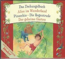 CD Box 5 Kinderhörbücher - Pinocchio - Das Dschungelbuch, Alice im Wunderland...