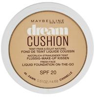 MAYBELLINE DREAM CUSHION LIQUID FOUNDATION ON-THE-GO SPF 20 SHADE 40 FAWN NEW