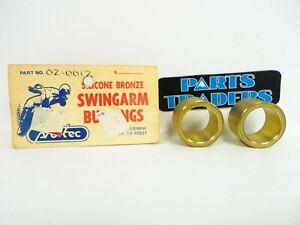 Protec Bronze Swingarm Bushings Set Of 2 Suzuki PE250 DR370 SP370 LT230 SP500