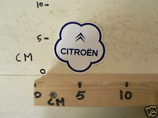 STICKER,DECAL CITROEN CITROËN LOGO ? WIT BLAUW CAR AUTO