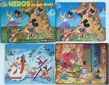 PUZZLE LES HEROS DE WALT DISNEY // VINTAGE FERNAND NANTHAN 1974