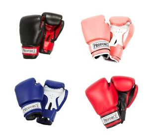 ProForce Leatherette Boxing/ Fitness/ Cardio Gloves - NEW IN BAG - 4 COLORS