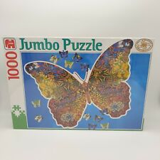 Jumbo 1000 Piece Butterfly Shaped Jigsaw Puzzle New And Sealed Free P&P
