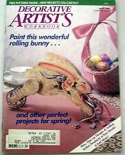 Decorative Artists Workbook April 1989 Tole painting patterns instructions