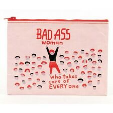 Blue Q Bad As* Woman Who Takes Care of Everything Zipper Pouch  Recycled