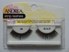 (LOT OF 10) Andrea Modlash 33 False Lashes Awesome Eyelashes Black Strip
