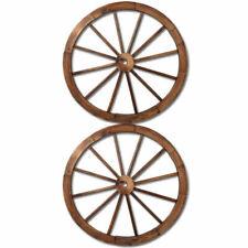 Gardeon Wooden Wagon Wheels - GDWHEEL2XCC (2 Pack)