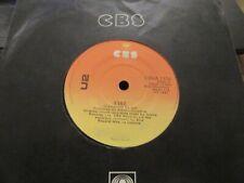 "U2 ""Fire / J-Swallo"" Rare Original Irish Pressing 7"" - CBS Records CBSA 1376"