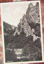 Postkarte Thale, Harz, v. Carl Mittag, Inh. Alfred Pappert Gernrode AK