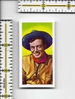 John Payne - Western Stars C.W.S. Jaycee Tipped cigarette tobacco card #22