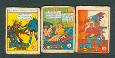 3 Exotic BATMAN and ROBIN Philippine Teks (Comics) Cards
