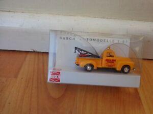 HO GAUGE 1/87 BUSCH - CHEVROLET PICK-UP BULLDOG TOWING TRUCK - REF 48209