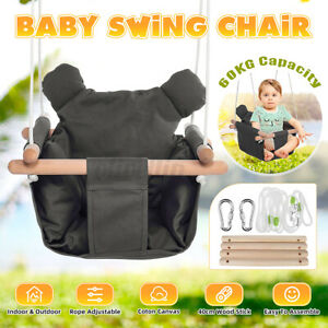 Holz Babyschaukel Kinderschaukel zum Aufhängen Kinder Schaukel Indoor Outdoor