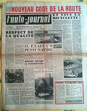 L'AUTO-JOURNAL n°66 du 11/1952; Référendum Dyna Panhard/ Nouveau code de la rout