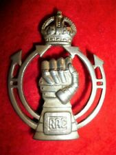 The Royal Armoured Corps KC Cap Badge, WW2 British Army
