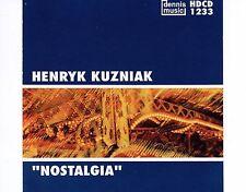 CD HENRYK KUZNIAK nostalgia DENNIS MUSIC 1995 EX+