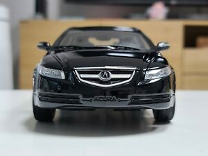 1:18 Honda Acura TL Black Dealer Edition