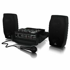 Behringer Europort Ppa200 5 Channel Portable PA System
