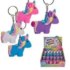 Unicorn Poo Slime Porte-clé Squeeze Toy Stress Soulager Key Chain Jouet Filles Cadeau