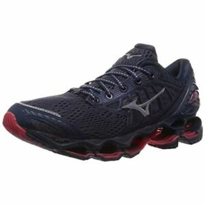 MIZUNO Running Shoes WAVE PROPHECY 9 Navy Gray Red J1GC2000 US10.5(28.5cm)