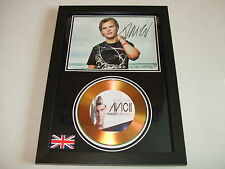 AVICII   SIGNED  GOLD CD  DISC   44