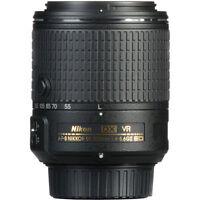 Nikon AF-S DX NIKKOR 55-200 mm f/4-5.6G ED VR II Lens f/ D500 D810 D5300 D3300