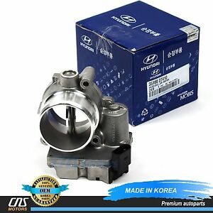 GENUINE Throttle Body for 04-11 Hyundai Santa Fe Sportage Diesel OEM 3510027410