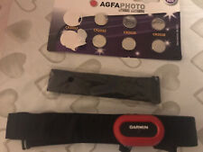 Garmin HRM Run (Heart Rate Monitor) Chest Strap * Extra Strap * Spare Batteries