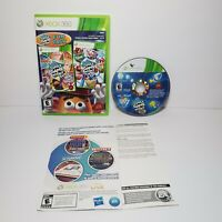Hasbro Family Game Night Fun Pack 2 & 3 (Microsoft Xbox 360, 2011) COMPLETE