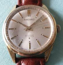 SEIKO Vintage 17 Jewels Mens Hand Winding Japan Wrist Watch