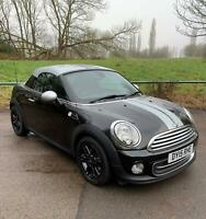 Lovely Mini Cooper 1.6 Coupe with Chilli Pack. HPI clear, Full service history