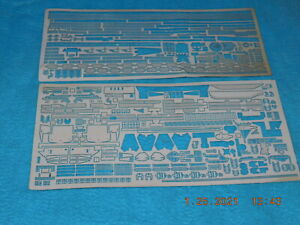 NOT COMPLETE WHITE ENSIGN 1/350 USS INDEPENDENCE CLASS CVL METAL KIT A&B PARTS