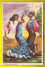 E  - FOLKLORE ESPAÑOL - FLAMENCO BAILES ANDALUCES 1950
