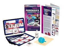 Forensics Fingerprint Lab Experiment Kit Thames & Kosmos Ignition Series
