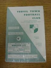 23/02/1966 Yeovil Town v Worcester City [Southern League Cup] . Item in very goo