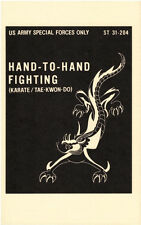 Hand-To-Hand Fighting - U.S. Special Forces Karate & Tae-Kwon-Do Book