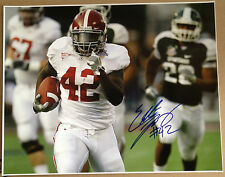 Eddie Lacy Alabama Autographed Signed 16X20 BCS Champs MSU TD Capital One Bowl
