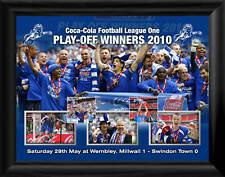 Millwall fc play-off gagnants 2010 montage encadrée Imprimer