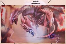 Anime Playmat Mat Large Mouse Pad Dark Magician Girl vs blue eyes ultimate #635