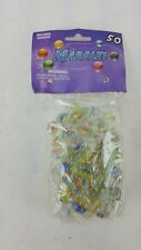 50 COUNT BAG OF MARBLES INCLUDES LARGE SHOOTER MARBLE GLASS