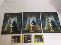 Disney Beauty And The Beast Live Enchanted Panini Stickers And Albums LOT Of 3