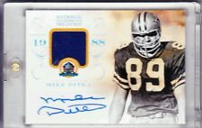 2013 Panini National Treasures Mike Ditka HOF1988 Auto Jersey Relic 45/50 L@@K!!