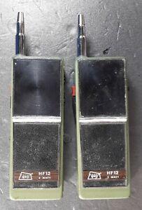 2 Two, Walkie- Talkie, Hersteller DNT, HF 12, GERMANY, vintage tech.