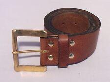 2 Inch 50mm Wide Leather Jean Belt Waist Size Designer Quality Full Grain Hide